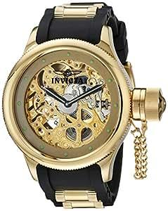 Invicta 1243 - Reloj de pulsera hombre, caucho, color negro