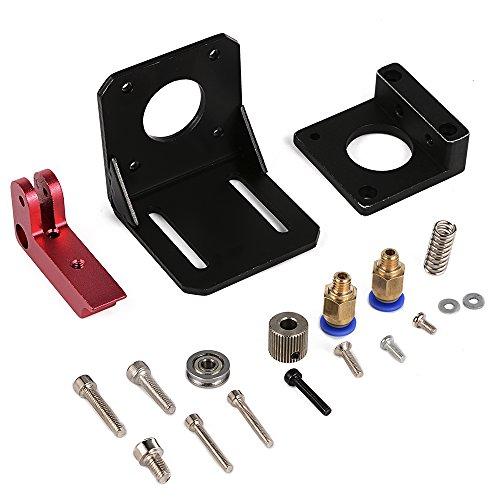 XCSOURCE MK8 extrudeuse à distance de main gauche 1.75/3mm Kit Pour 3D imprimante Makerbot Reprap Tout Métal TE428