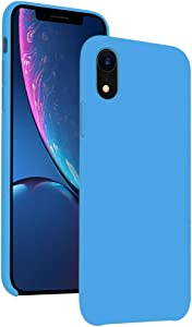 Diaclara iPhone XR Case Silicone, 6.1'' iPhone 10R Hybrid Cases Classic Bumper Shockproof Drop Protective Cover for Apple iPhone 2018 (Sky Blue, 6.1)