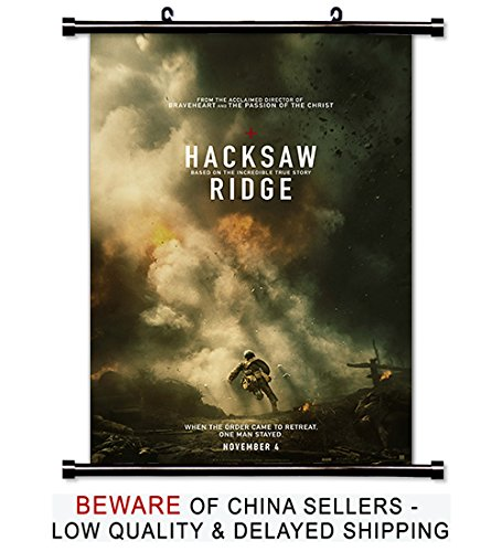 Hacksaw Ridge Movie Fabric Wall Scroll Poster (32x49) for sale  Delivered anywhere in Canada