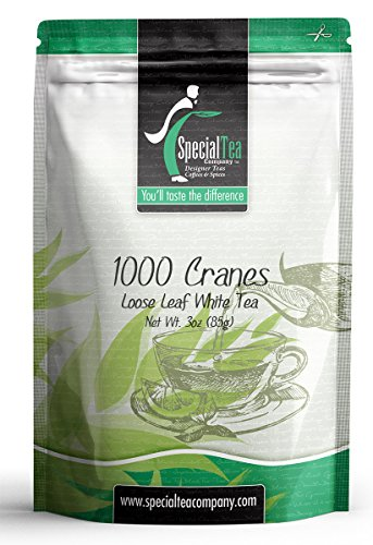 Special Tea Loose Leaf White Tea, 1000 Cranes Blend, 3 Ounce