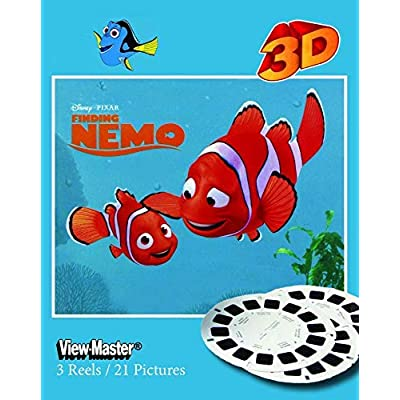 Finding NEMO - Classic ViewMaster 3 Reel Set - Images from Movie: Toys & Games