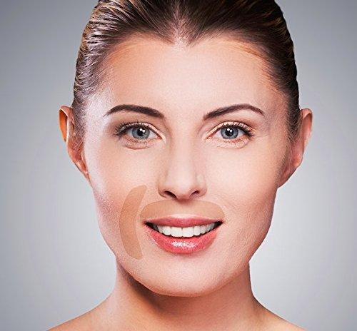NEU (Augen/Mund) Apricot Skin Anti-Falten Gesichtspads - sanfte und nachhaltige Methode zur Faltenreduzierung! 100 Patches Augen/Mund