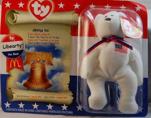Libearty Bear (TY McDonald's Teenie Beanie - LIBEARTY the Bear (2000))
