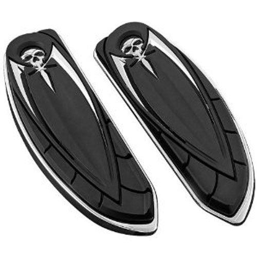 Kuryakyn 4566 Zombie Floorboard (Flame Harley Davidson Boots)