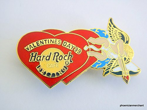 Valentine 1999 Two Hearts With Cupid Hard Rock Cafe Beijing ()