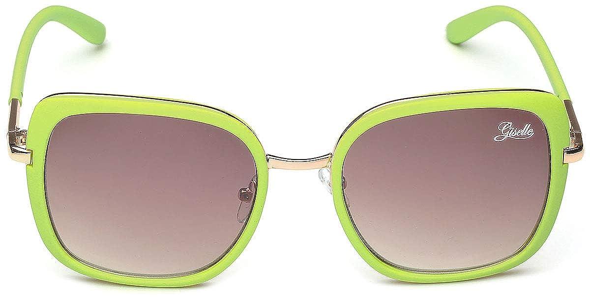 c1d2cbfea145 Amazon.com  Giselle Oversized Square Women s Vintage Fashion Statement  Sunglasses Medium-Large  Sports   Outdoors
