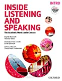 img - for Inside Listening and Speaking Intro Student Book book / textbook / text book