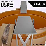 Guarden Humane Mouse Traps that Work – Forget Electronic Mouse Traps and Use a Self-Resetting, Effective, No Poison Mousetrap – Quick Pest Control for Voles, Mice, Rodents and Rats