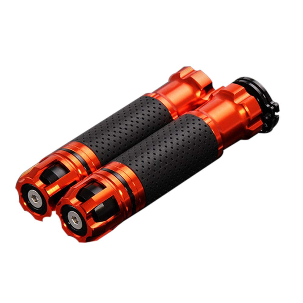 KKmoon 22mm CNC Pu/ños Acoples de Manillar Giratorio para Moto Universal 7//8