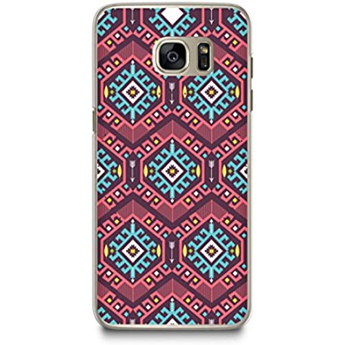 Case for Samsung S7, CasesByLorraine Colorful Aztec Middle East Tribal Style Pattern Case Plastic Hard Cover for Samsung Galaxy S7 (P08) Sales