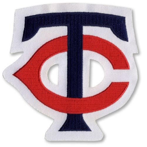 Minnesota Twins 'TC' Logo Patch (White Border)