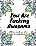 Best Coloring Books For Adults - You Are Fucking Awesome: A Motivating Swear Word Review