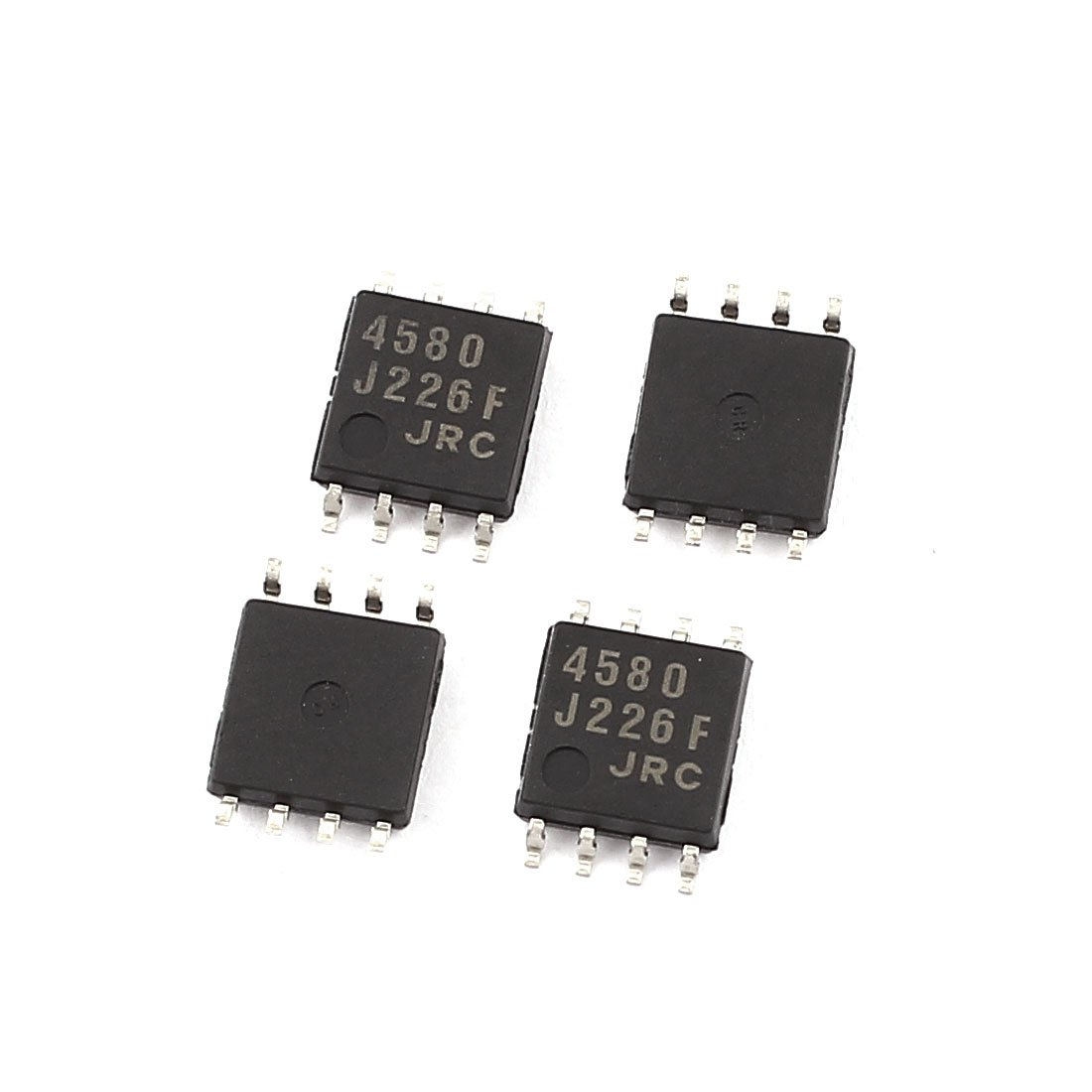 Uxcell A15091600ux0674 Jrc4580 8 Pin Pcb Surface Mount Smd Smt Ic Dip Pcba Suitable For Camera Circuit Board And Electronic Lcd Power Chip 4 Piece Industrial Scientific