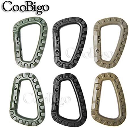 Carabiner Rotating Hook for Camping Hiking Travel Backpack Outdoor D Ring Hs1
