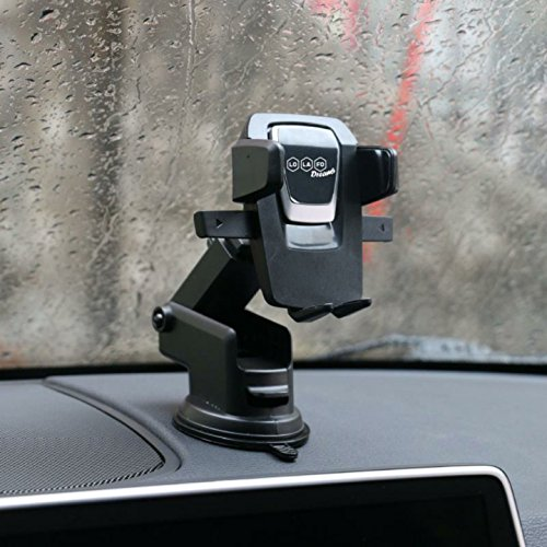 Car Mount Cell Phone Holder For Car Mobile Mount Air Vent Cradle Windshield Dashboard Long Arm Anti-skid Base for iPhone X/8/7/7P/6S/6P/5S Samsung Galaxy S5/S6/S7/S8 Nexus Nokia Google Huawei and More