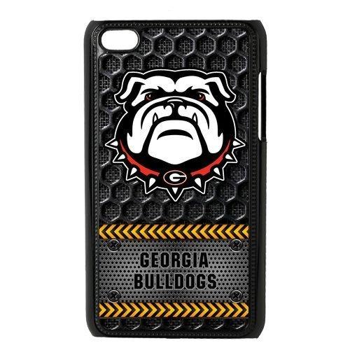 Mystic Zone Custom Georgia Bulldogs Cover Case for IPod Touch 4