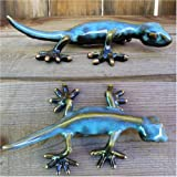 Gecko in shades of Blue and Aqua from the Golden Pond Collection