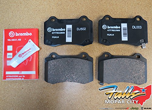 Jeep Grand Cherokee SRT Brembo Rear Brake Pads Mopar OEM