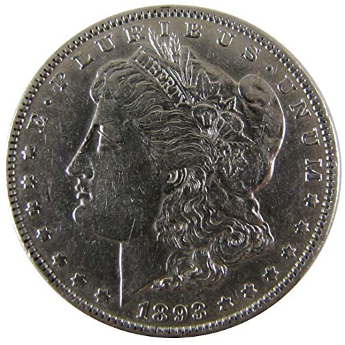 (1893 Morgan Silver Dollar $1 Extremely Fine Details)