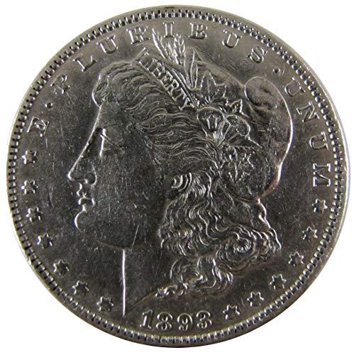 (1893 Morgan Silver Dollar $1 Extremely Fine)