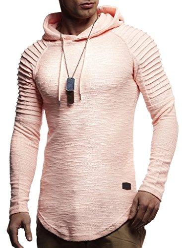 Hommes Nelson Pullover Capuche À Pour Lachsrosa Sweatshirt Hoodie Ln8128 Pull Des Leif q4tdA