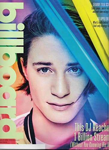 Kygo l Kanye West l The 1975 l Bonnie Raitt - February 27, 2016 Billboard