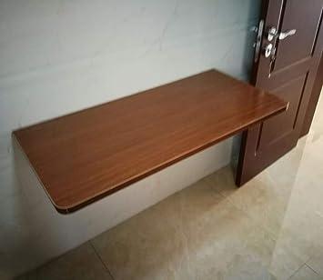 TXX Mesa de hoja abatible simple montada en la pared, mesa ...