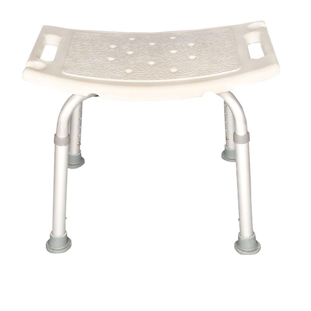 アルミニウム合金の高齢者のバスチェアの子供のバスのスツールバスルームのスツール妊婦のバスチェアチェアの椅子の高さの調整 (三 : C) B07DFD6MDY C