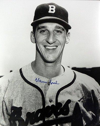 Warren Spahn Signed 16 x 20 Photograph Atlanta Braves - Certified Genuine Autograph By PSA/DNA - Autographed Photo (Spahn Photograph)