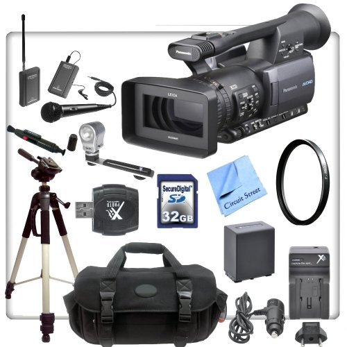 panasonic-ag-hmc150-avccam-camcorder-with-cs-interview-kit-includes-wireless-lapel-handheld-micropho