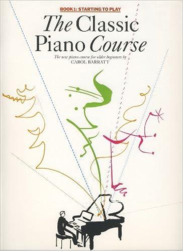 The Classic Piano Course Starting to Play: BARRATT: 9780711943117: Amazon.com: Books