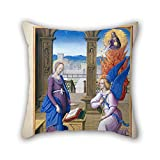 Elegancebeauty Oil Painting Jean Poyer - Hours Of Henry VIII Cushion Covers 20 X 20 Inches / 50 By 50 Cm Gift Or Decor For Couples,her,boy Friend,couples,car,deck Chair - Both Sides