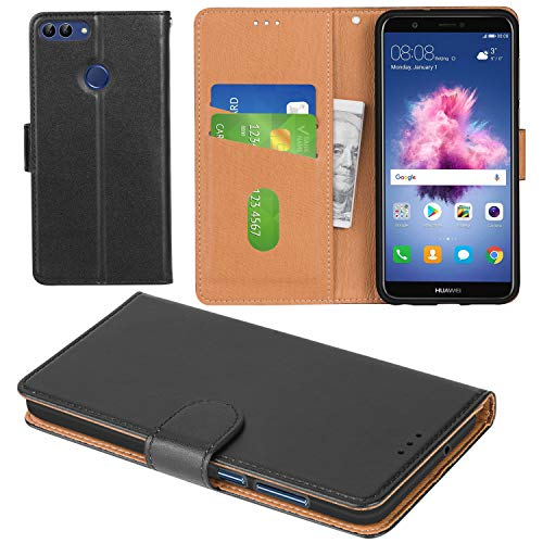 aicoco huawei p smart case flip cover leather wallet phone. Black Bedroom Furniture Sets. Home Design Ideas