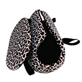 Pet Travel Carrier Tote Bag - SODIAL(R) Foldable and washable Small Dog Cat Pet Travel Carrier Tote Bag Purse Bag Soft padded small pet shoulder carrier bag tote. Coffee