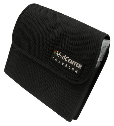 MedCenter 73166 7 Day Pill Traveler Nylon, Black, Xlvitamin Size by MedCenter