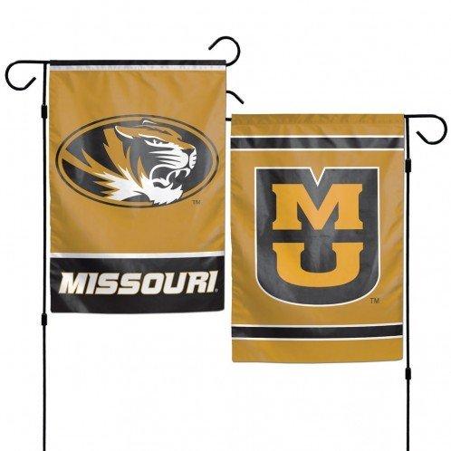 Ncaa Garden Decorations - WinCraft NCAA University of Missouri Mizzou Tigers 12x18 Inch 2-Sided Outdoor Garden Flag