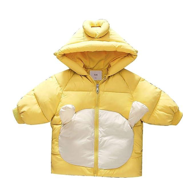 Amazon.com: Chaqueta de algodón grueso para bebé, chaqueta ...