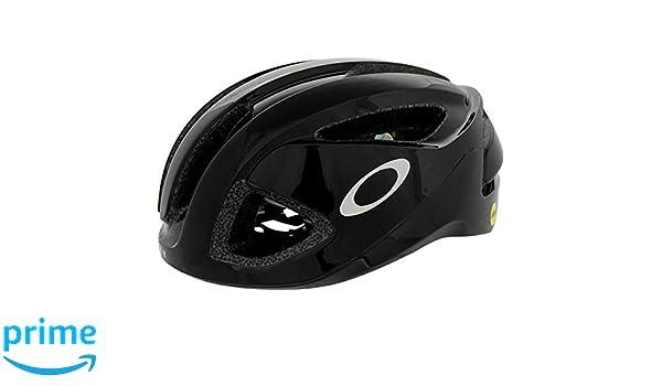 Oakley ARO3 - Casco de Bicicleta - Negro Contorno de la Cabeza M 2018: Amazon.es: Deportes y aire libre