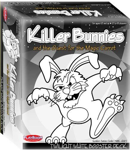- Playroom Entertainment Killer Bunnies Twilight White Booster