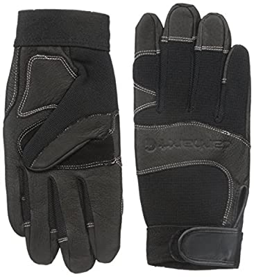 Carhartt Women's Dex II High Dexterity Work Glove with Leather Palm and Knuckle Protection
