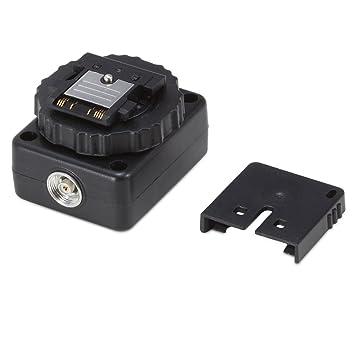 Neewer Negro Adaptador de Zapata de Flash para Sony cámaras de vídeo A7 A7R A7II A7S ...