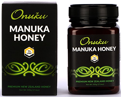 Onuku Manuka Honey Certified UMF 15+ (MGO 515+), New Zealand, 500g (17.64oz)