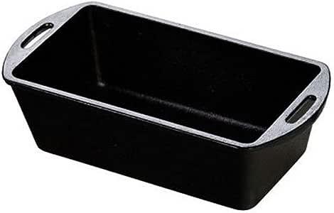 Lodge L4LP3 Cast Iron Loaf Pan, Black