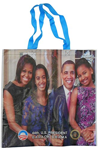 Obama''4 Sided'' Full color Glossy Tote Bag by Obama Keepsake Collection