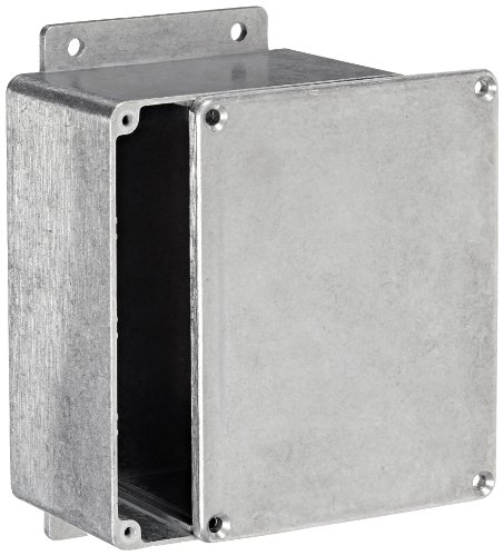 BUD Industries CN-6705 Die Cast Aluminum Enclosure with Mounting Bracket, 4-17/32