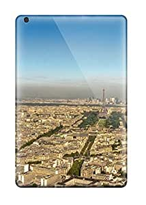 Rugged Skin Case Cover For Ipad Mini/mini 2- Eco-friendly Packaging(city Of Paris )