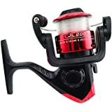 Stone H JL200 3BB Red-tone Mini Fishing Spinning Reel With 50M Transparent Line