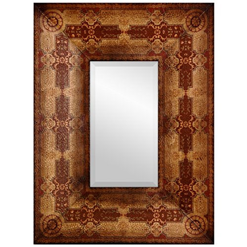 - Oriental Furniture Olde-Worlde Baroque Style Mirror