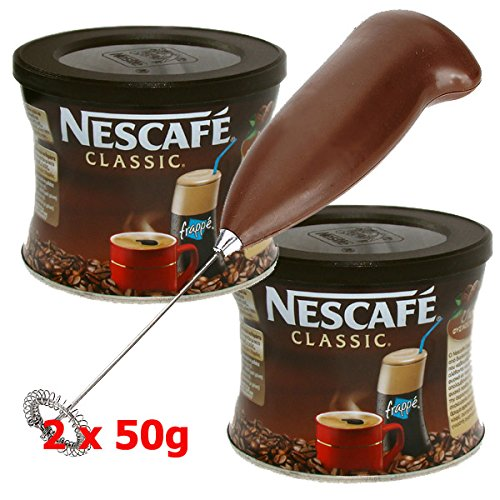 Amazon.com: GREEK FRAPPE coffee 2x50 gr NESCAFE Classic & Hand Mixer - Frother: Kitchen & Dining